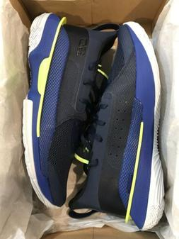 NEW Under Armour Curry 7 Dub Nation Blue #3021258-405 Basket