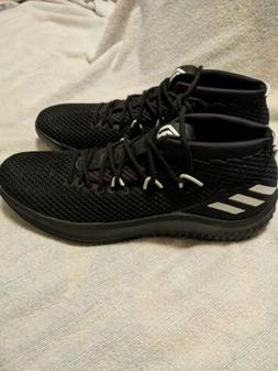 NEW Adidas Dame 4 YKWTII Black/White Mens Sz 16 Basketball S