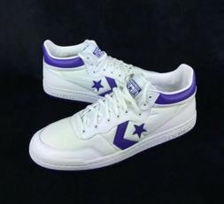 NEW Converse Fastbreak 83 Mid White Purple Basketball Shoes