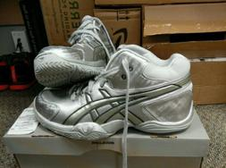 New Asics GELTRIAX 3 Silver Selection basketball shoes Sz10