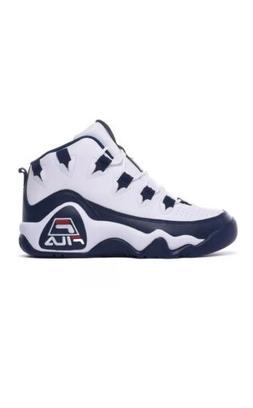 *NEW* Fila Grant Hill 1 Men's  Basketball Shoes White Blue