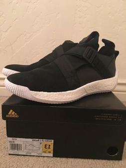 New ADIDAS HARDEN LS 2 BUCKLE SIZE 13  Black Basketball shoe