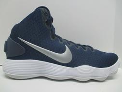 NEW - NIKE Hyperdunk 2017 TB Basketball Shoes - Navy Blue -