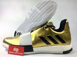 New adidas James HARDEN VOL. 3 'IMMA STAR' G54026 Gold Metal
