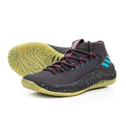 New Men`s adidas Dame 4 Glow in the Dark Basketball Shoes