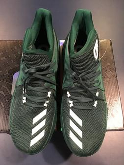 New Adidas Mens Dame 3 BY3194 Green/White Basketball Shoes N