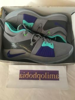 New Mens Nike PG2 Size 11.5 Grey Basketball Shoes