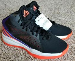New Mens Adidas Speedbreak Basketball Shoes Size 10.5 Black