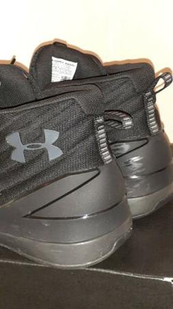 NEW MENS UNDER ARMOUR UA LOCKDOWN 3 Basketball Black Curry S