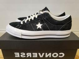 Converse One Star Vintage Suede Black Basketball Shoes for M