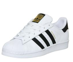 *NEW - ADIDAS ORIGINALS SUPERSTAR MEN'S SHOES  - WHITE/BLACK