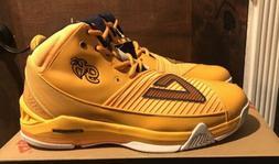 NEW PEAK George Hill 3 III Orange Men's Basketball Shoes