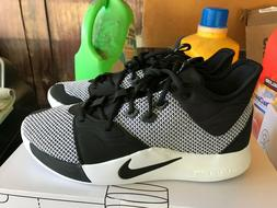 NEW Nike PG 3 Basketball Shoes Black White AO2607 002 Size 1