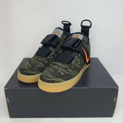 New Size 11 NikexCarhartt Air Force 1 Utility Low Premium WI