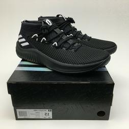 New Adidas SM Dame 4 NBA Basketball Shoes Black White Mens S
