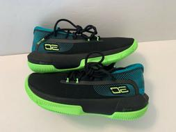 NEW Under Armour UA Curry Boys Youth Basketball Shoes Green