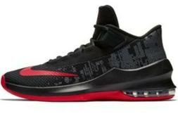 NIB Men's Nike Air Max Infuriate 2MID Basketball Shoes Black