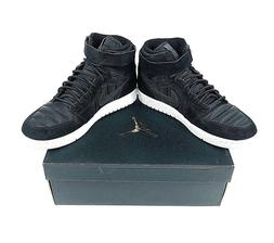 Nike Air Jordan 1 High Strap Shoes Mens Size 11 Black 342132