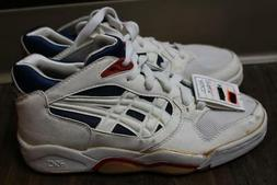 Nos deadstock vtg 80s asics gel Sy 363  high top basketball?