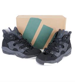 NOS Vtg 90s Adidas EQT Basket Boot Spell Out Basketball Shoe