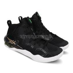 Asics Nova Surge Gel Black Hi-Top Mens Basketball Shoes 1061