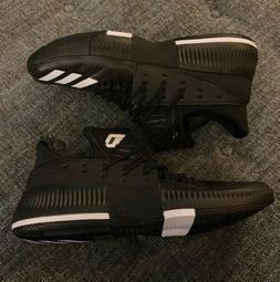 Nwob Adidas Damian Lillard Basketball Shoes Mens Size 15 Bla