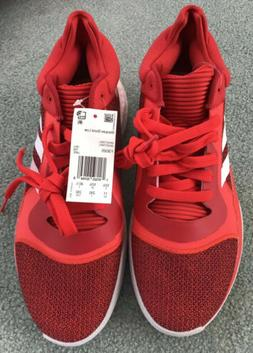 NWT Adidas Men's Marquee Boost Low Size 11 Red/White Baske