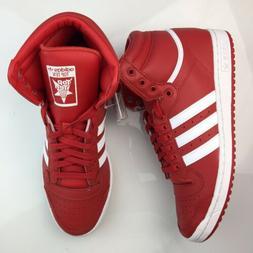 Adidas Originals Top Ten Hi Shoes Red Scarlet White Mens Sne