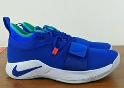 """Nike PG 2.5 """"Fortnite"""" Racer Blue White Mens Basketball Shoe"""