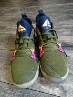 Nike PG 2 ACG Olive Paul George Basketball Shoes AJ2039-300