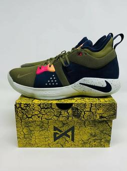 Nike PG 2 ACG Olive Paul George Basketball Shoes AJ2039-300