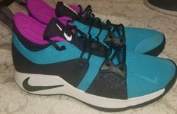 Nike PG 2 Blue Lagoon Paul George Basketball Shoes AJ2039- 4