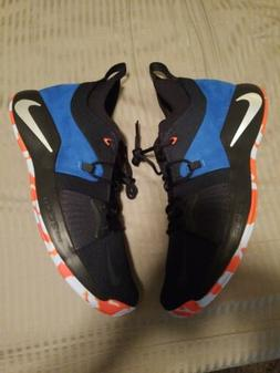 "Nike PG 2 ""Home"" Basketball Shoes Blue Orange White AJ2039-4"