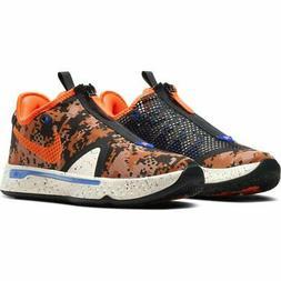 "Nike PG 4 ""Digi Camo"" Basketball Men's Shoes Light Cream-Tot"