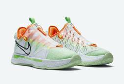 Nike PG 4 Gatorade GX Basketball Shoes CD5078-100 White Lime
