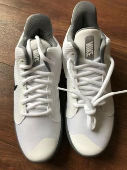 Nike PRECISION III Mens White/Black AQ7495-100 Basketball Sh