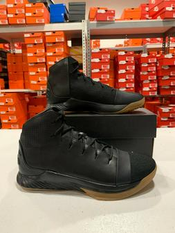 Under Armour Primo Mid Basketball Shoes Black Chocolate 1296