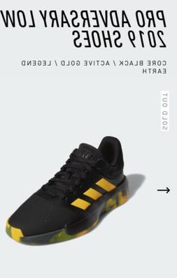 adidas Pro Adversary Low 2019  Casual Basketball  Shoes Blac