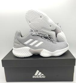 ADIDAS Pro Bounce 2018 Low Basketball Shoes AH2676 Light Gre