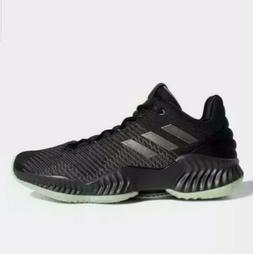 Adidas Pro Bounce 2018 Low Basketball Shoes Black Carbon B41