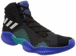 Adidas Pro Bounce 2018 Men's Basketball Shoes Core Black Blu