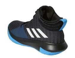 Adidas Kids Basketball Shoes Pro Elevate 2018 Mid Top Black+