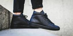 Converse Pro Leather 76 Mid Mens Shoes 155335c Black Black