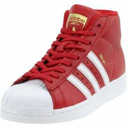 adidas PRO MODEL  Athletic Basketball Court Shoes Red - Boys