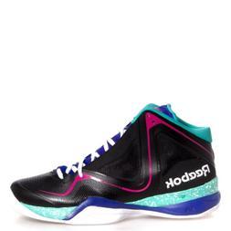 Reebok Men's Pumpspective Omni Basketball Shoe,Black/Blue Mo