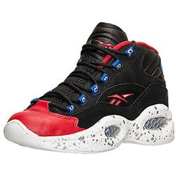 Reebok Question Basketball Shoe ,Black/White/Excellent Red/C