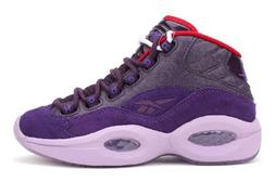 Reebok Question Mid Basketball Shoes - Purple Ink/Fearless P