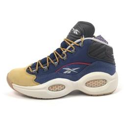 Reebok Question Mid Dress Code Mens 7.5 Iverson Basketball S