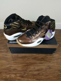 Reebok Question Mid X Villa Iverson Basketball Shoes Size 10