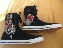 Rare Converse Sailor Jerry Calf High Shoes Size 12 Men